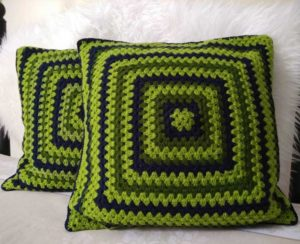 Crochet pillows pattern
