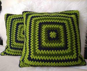 Crochet pillows pattern