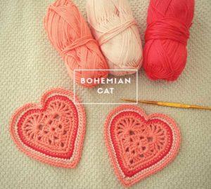 Crochet small purse details