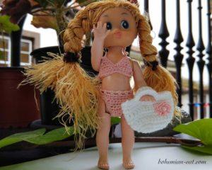 Doll bag crochet pattern