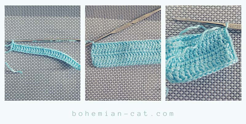 Crochet classic bow step by step