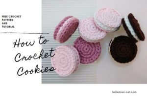 Crochet cookies Crochet Food
