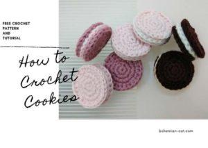 Crochet Cookies Crochet Food