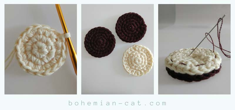 Amigurumi cherry keychain (free crochet pattern) | Mindy | 376x800
