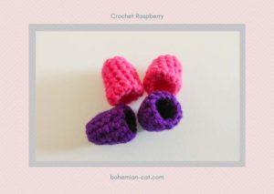 Crochet Raspberry