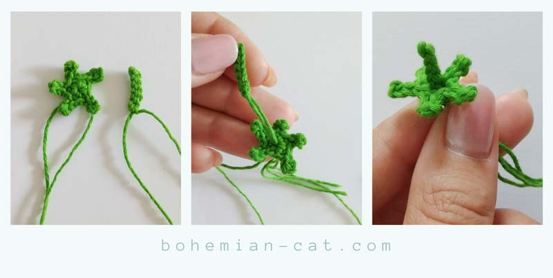 Crochet Raspberry Step by Step Tutorial 1