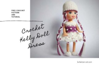 Crochet Kelly Doll Dress