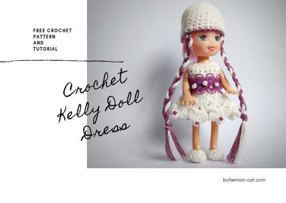 Crochet Kelly Doll Dress