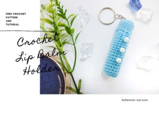 Crochet Lip Balm Holder