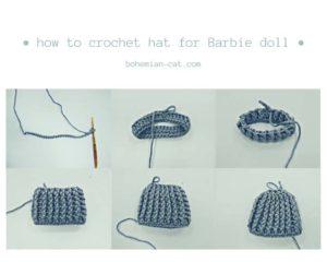 Crochet Barbie Scarf
