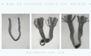 Crochet Barbie Scarf 2