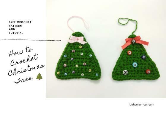 Easy crochet christmas tree