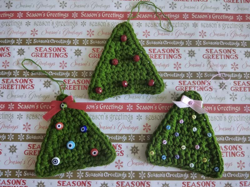 Crochet Christmas Tree Decoration