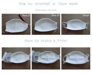 How to make filter for face mask