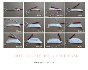 How to crochet a face mask