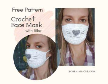 Crochet Face Mask