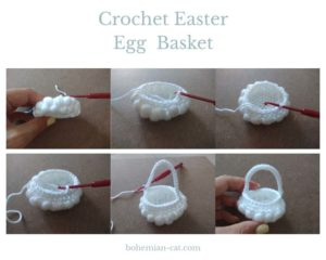 How to Crochet Easter Egg Basket 2